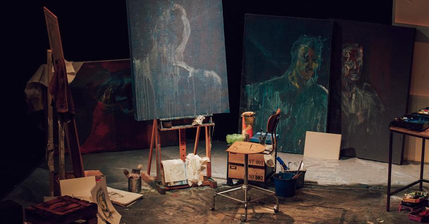 Teatro Madrid, Teatro Fernán Gómez, El hombre y el lienzo