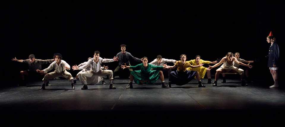 Danza Madrid, Teatro Nueve Norte, Sonder, Holocausto