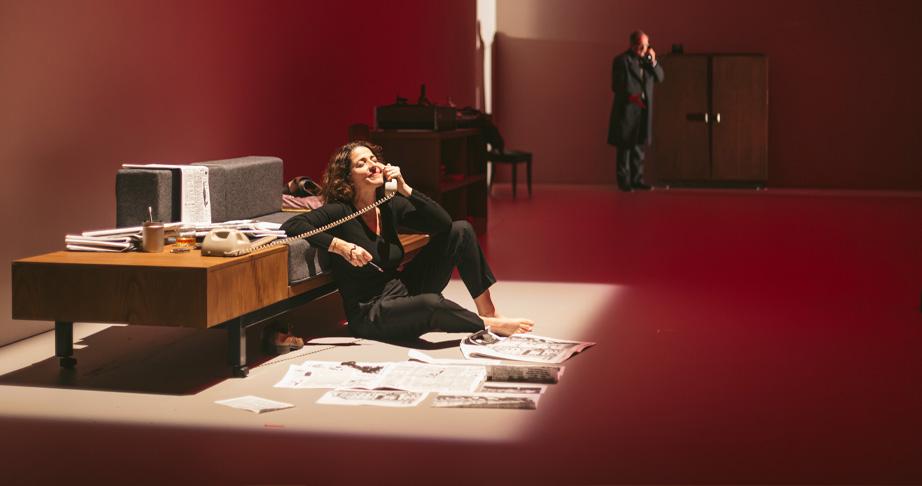 El quadern daurat. Nora Navas. Teatre Lliure