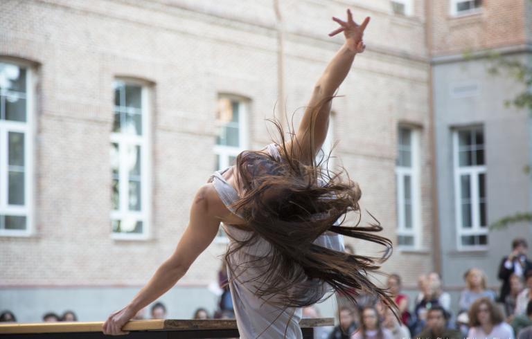 Cuerpo Romo 2020, V Edición del Festival de danza conemporánea. Centro Cultural Conde Duque