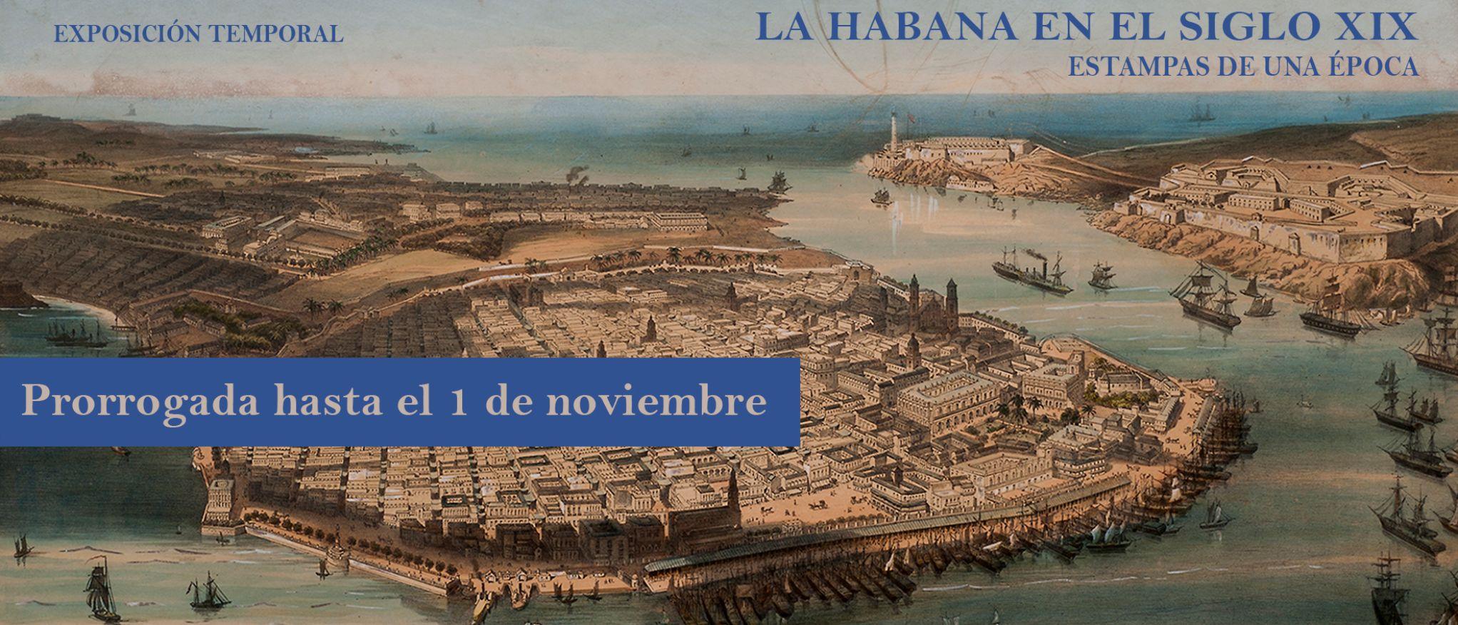 La Habana en el siglo XIX. Museo de América.