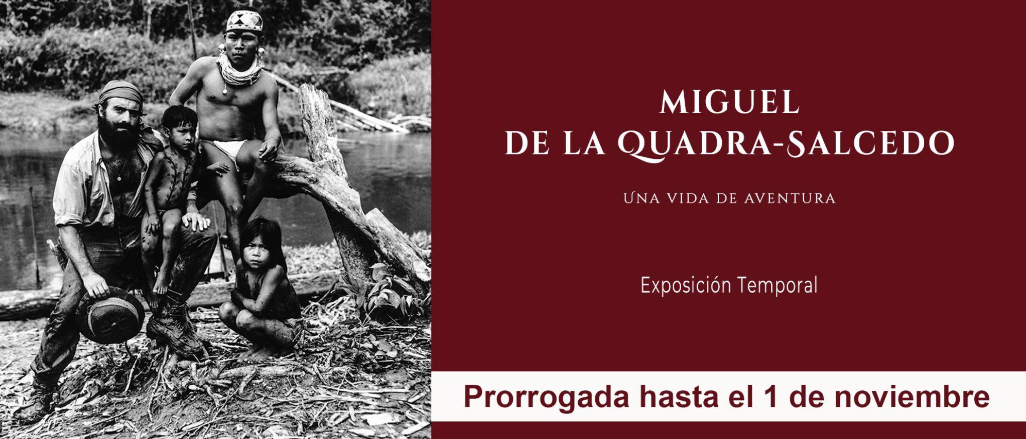 Miguel de la Quadra-Salcedo, Exposición. Museo de América