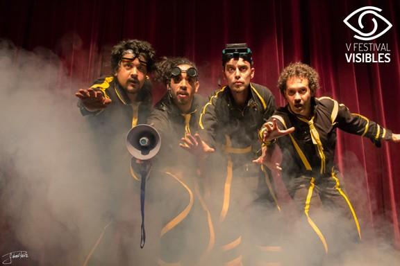 El grupo argentino Estereotipos con su Teletransportación en la Sala Tarambana, V Festival Visibles