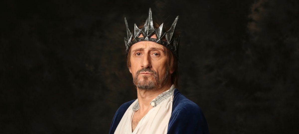 José Luis Gil en Eduardo II, ojos de Niebla, Teatro Bellas Artes