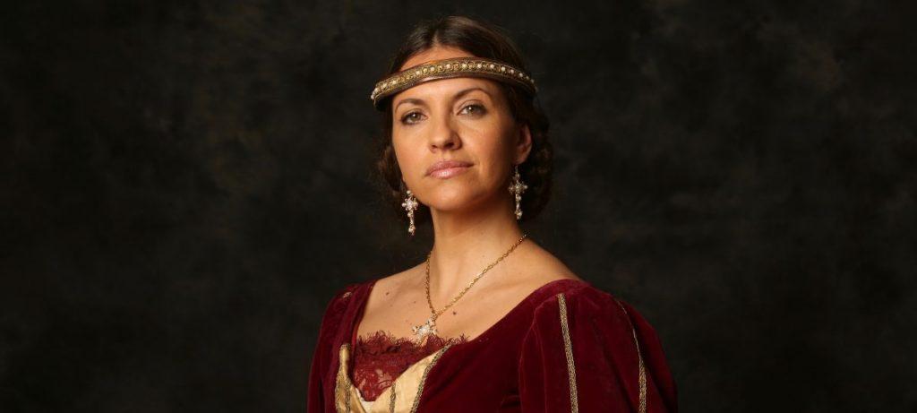 Ana Ruiz en Eduardo II, ojos de Niebla, en el Teatro Bellas Artes