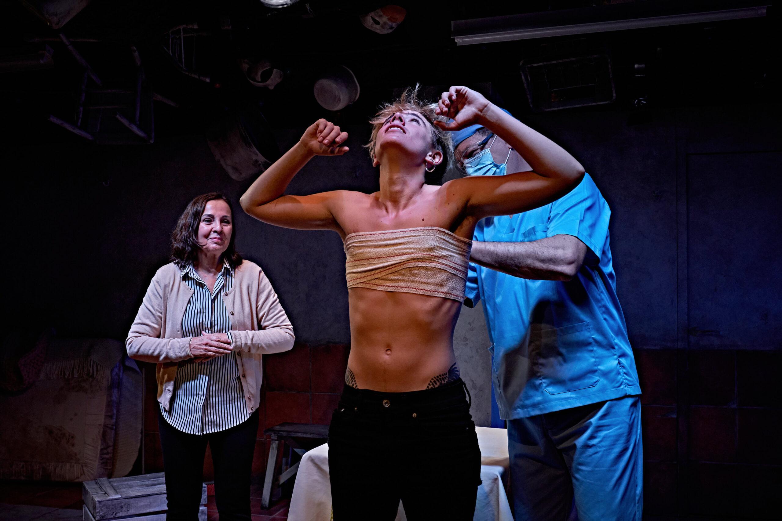 Transformación de Paloma Pedrero, Teatro Maria Guerrero