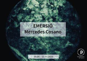 Emersió, Mercedes Cosano, Projekteria, Art Gallery