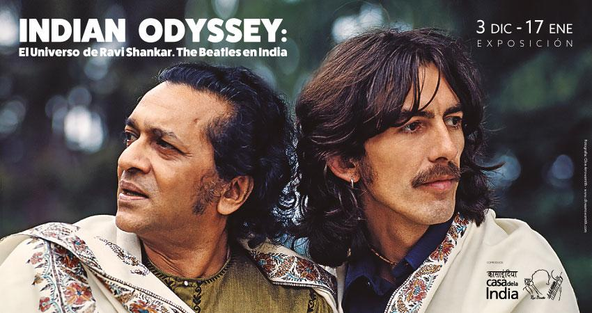 Indian Odissey, The Beatles, Ravi Shankar, Fernán Gómez Centro Cultural de la Villa