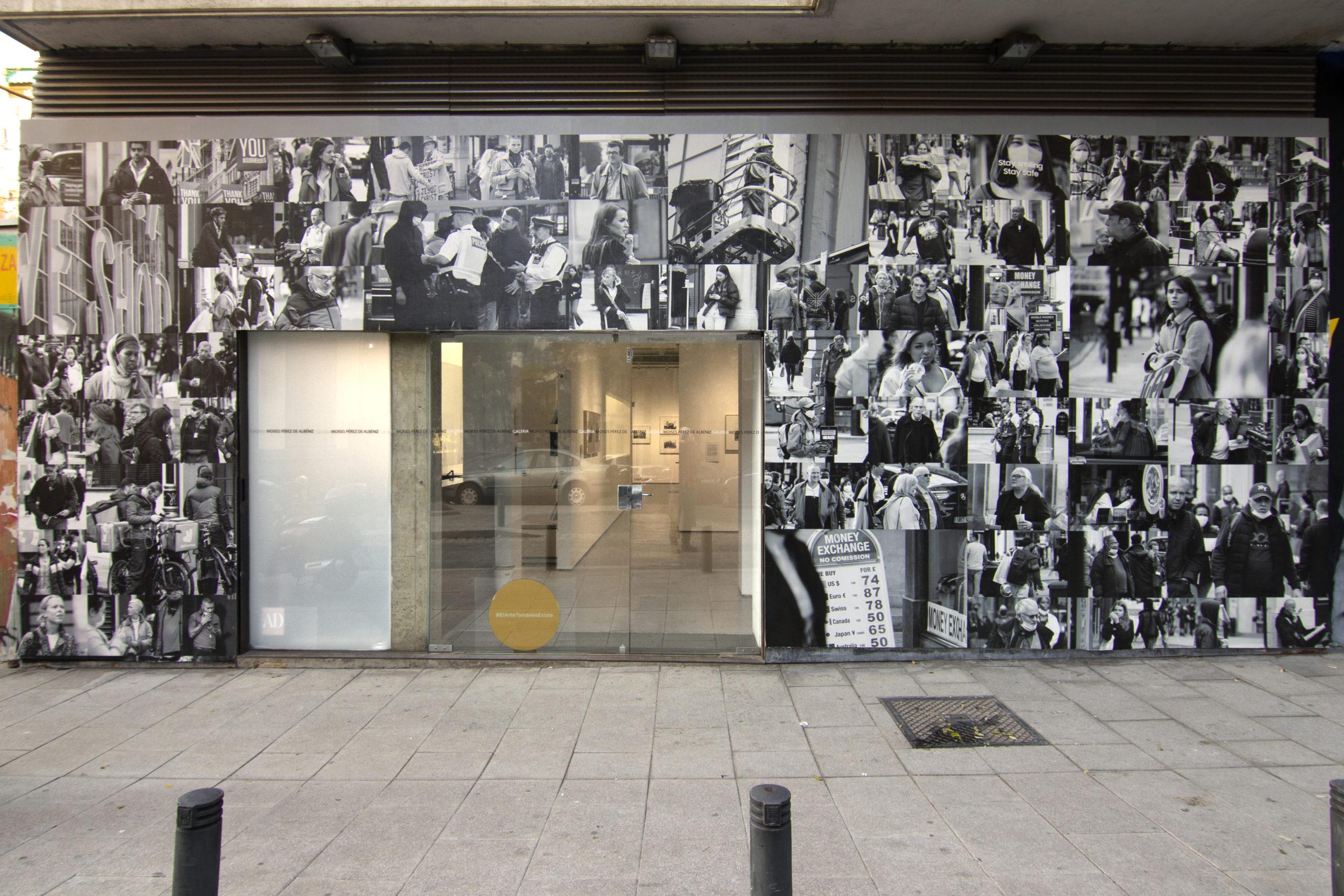 Alejandro S. Garrido, Exposición, Galería Moisés Pérez de Albéniz