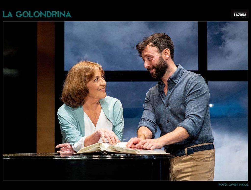Carmen Maura, La golondrina, Teatro Infanta Isabel