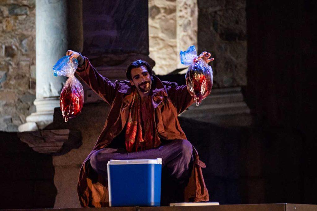 Nando López, Tito Andrónico, Teatros del Canal