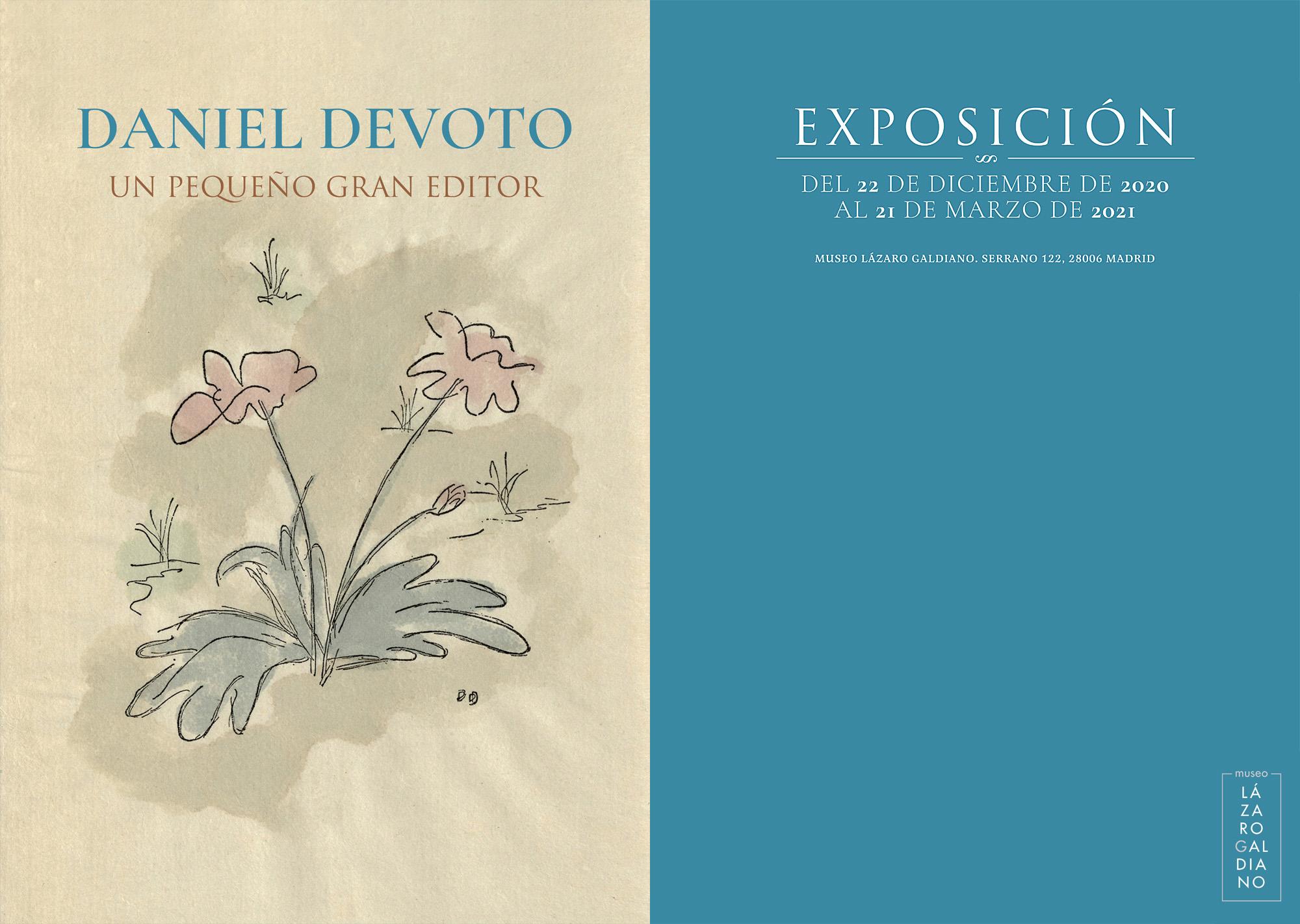 Daniel Devoto, Museo Lázaro Galdiano