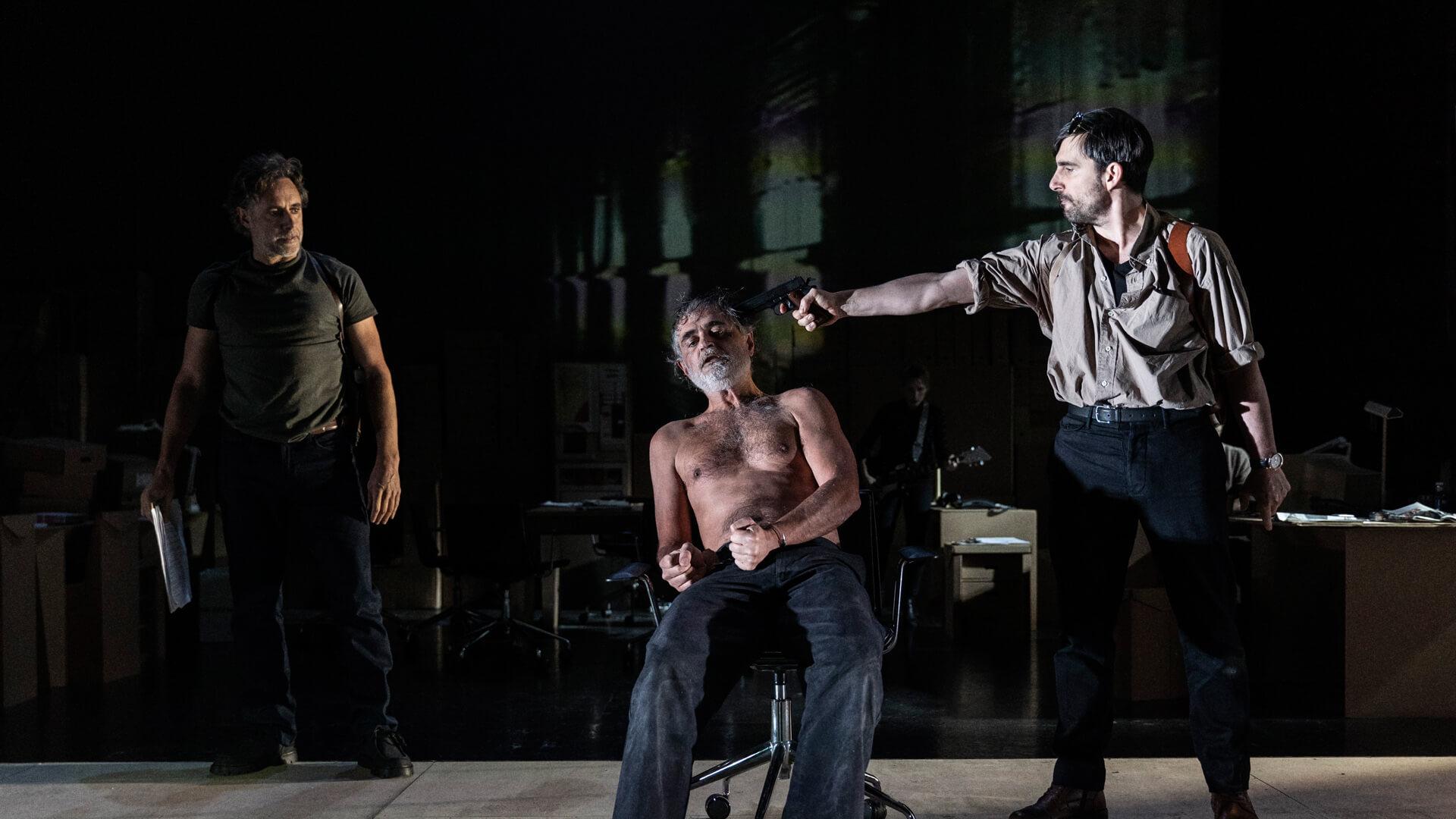 Los papeles de Sísifo, Teatro María Guerrero