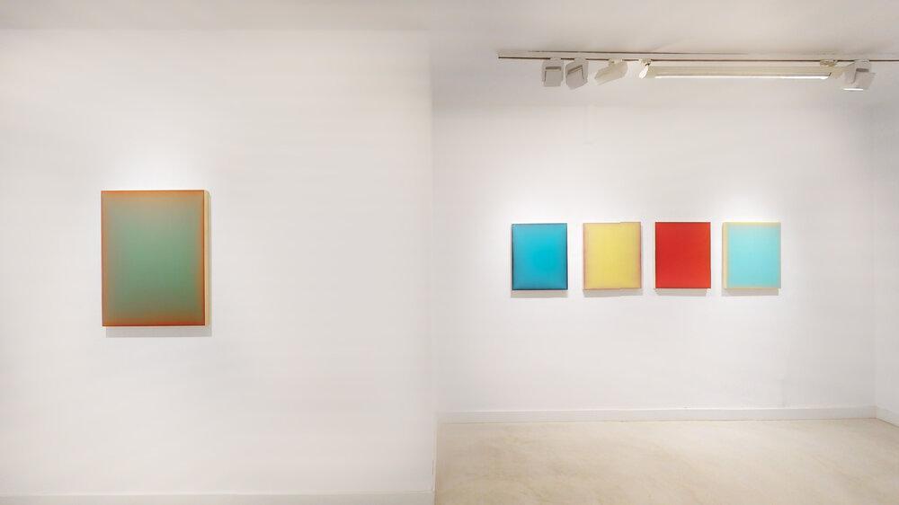 Eric Cruikshank, Michael Craik, Galería Víctor Lope, Madrid