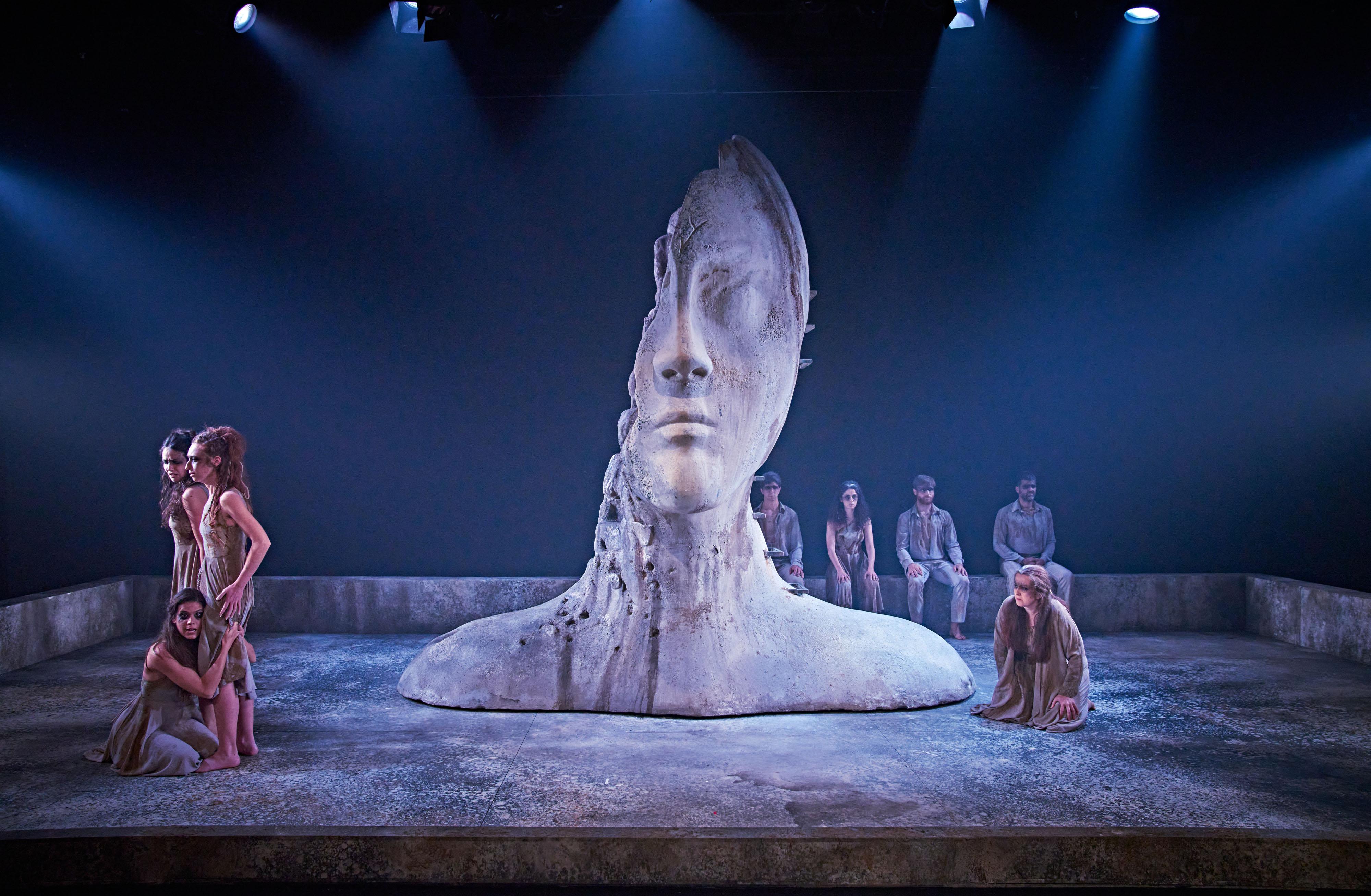 Troyanas, Séneca, Teatro de la Comedia