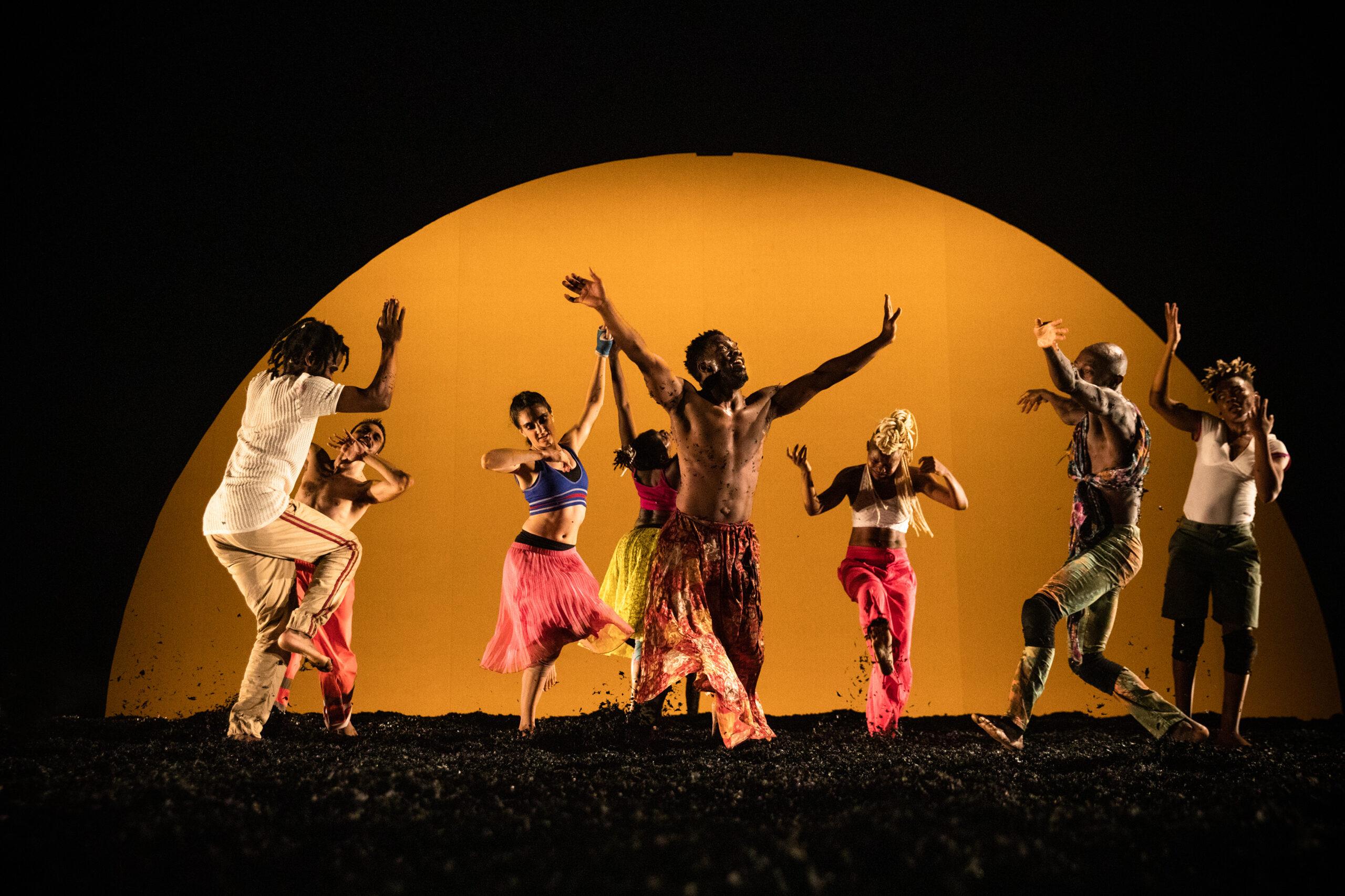 Serge Aimé Coulibaly y Faso Danse Théâtre