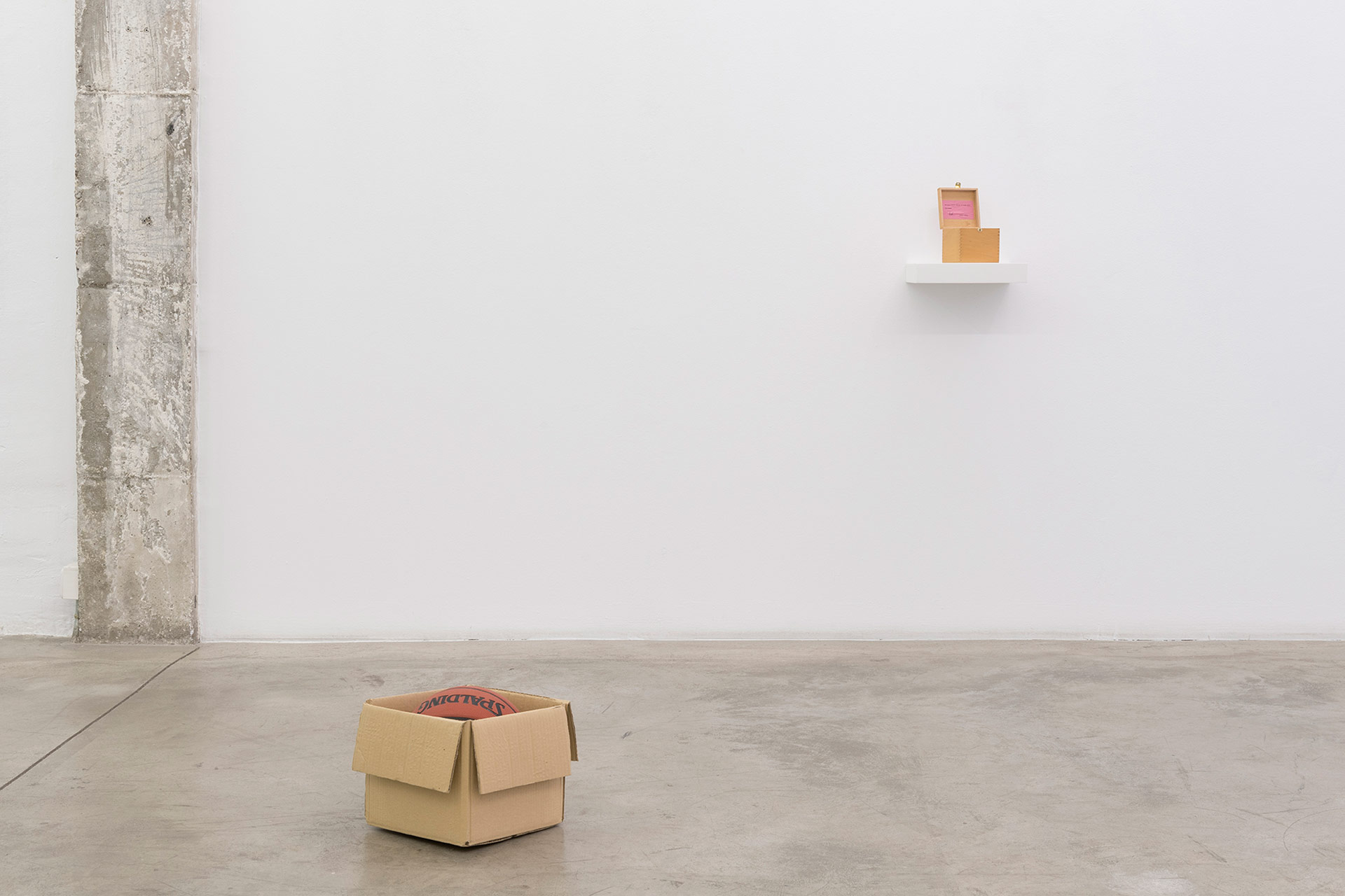 Wilfredo Prieto, Robert Filliou, Galería Nogueras Blanchard, Madrid