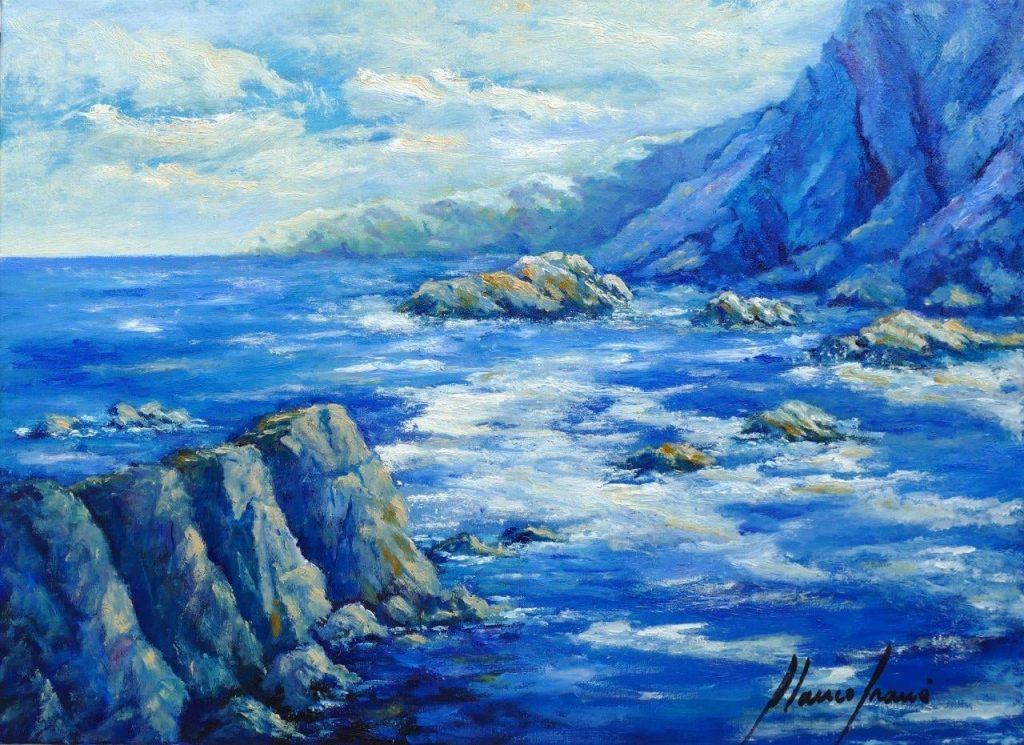 blanco grané, galeria d'art mar