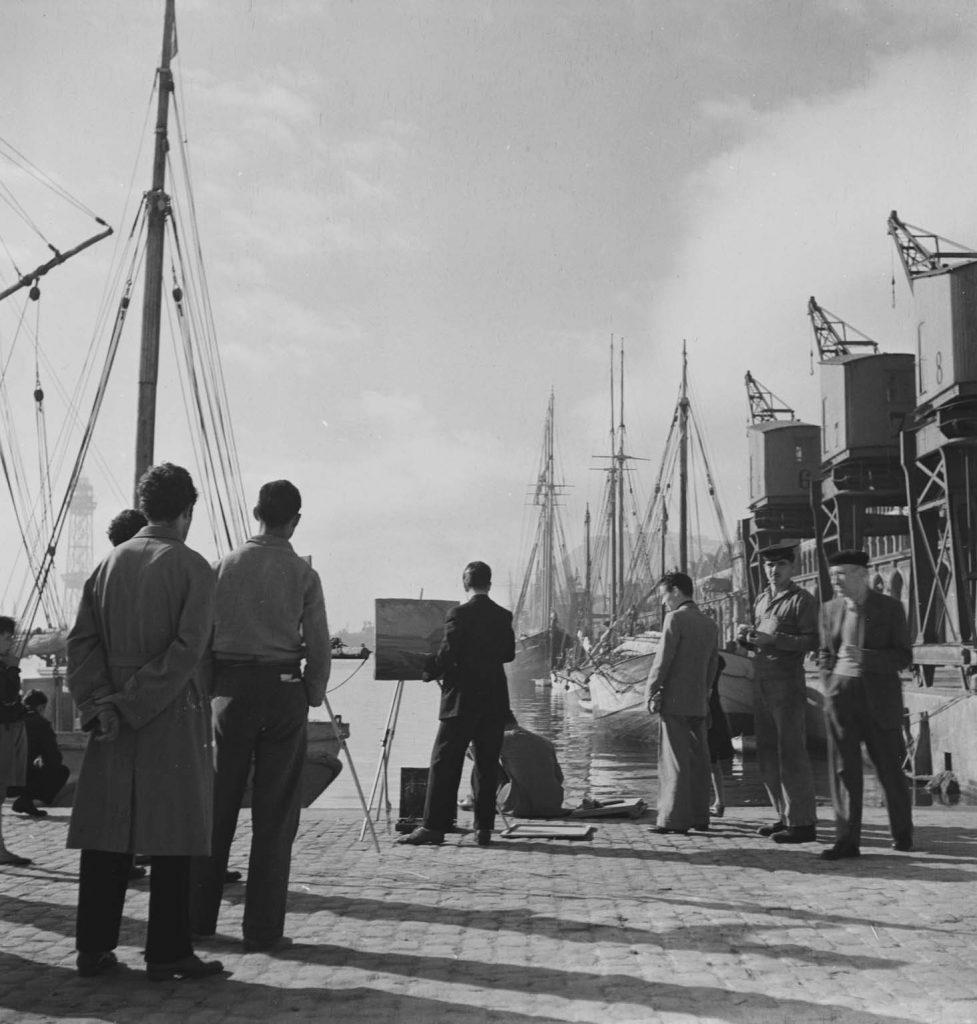 Imágenes encontradas La Barcelona marítima de posguerra, Joaquín Tusquets de Cabirol, Museu Marítim de Barcelona, Imágenes Encontradas La Barcelona marítima de posguerra.