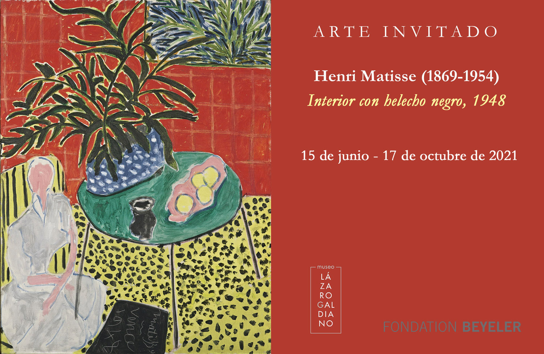 Henri Mattisse, Museo Lázaro Galdiano, Exposiciones, Madrid