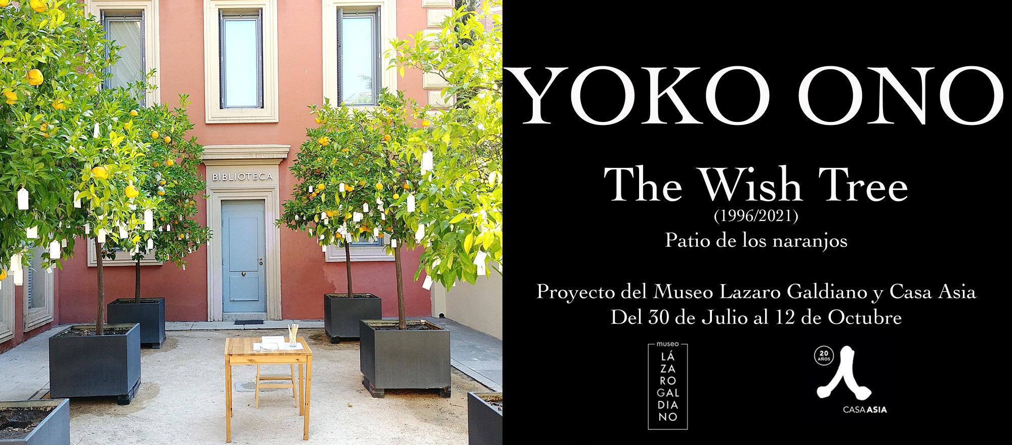 The Yoko Ono Wish Tree, Museo Lázaro Galdiano